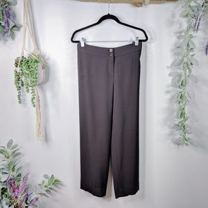 Armani Collezioni Pants - ARMANI COLLEZIONI wool straight crop trouser 994